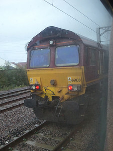 66030 sitting at Elderslie Loop waiting on signals to proceed