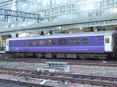 Mark 2 lounge car used on the Caledonian Sleeper