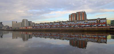 The sheds at Lancefield Quay, now flats